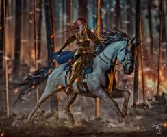 Elf Rider by tab109