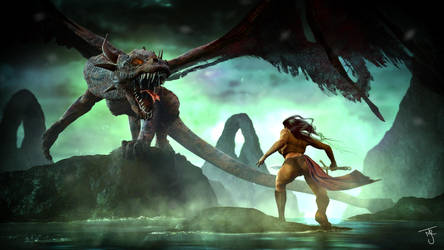 Dragon by tab109