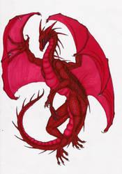 Red Dragon by MidoriBara