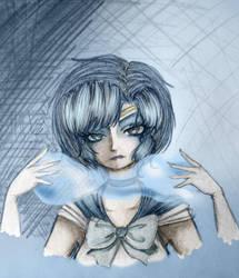 Sailor Mercury by Dynneekx