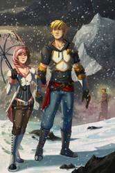 RWBY: Jaune and Neo (Compassion) by CrystalMoonlightIII