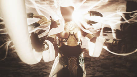 Auriel Archangel of Hope by emmabellish