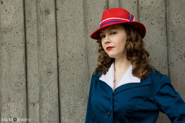 Agent Carter Cosplay - Peggy Carter by emmabellish