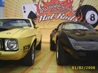 Mustang and corvette by pacoceruelos