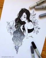 Ombre Hair by MeldyRose