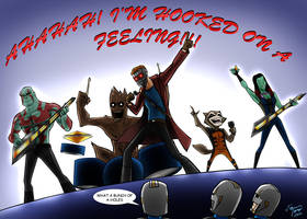 The Guardians of The Galaxy by jonathanserrot