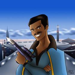 Lando Calrissian by jonathanserrot