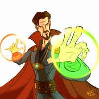 Doctor Strange by jonathanserrot