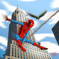 Spider-Man Homecoming by jonathanserrot