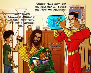 Hey Shazam! Can you talk to fish? by jonathanserrot