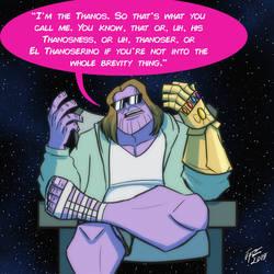 The Big Mad Titan by jonathanserrot