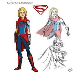 Supergirl Redesign by jonathanserrot