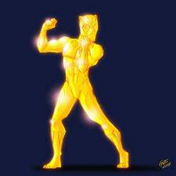 Golden Panther by jonathanserrot