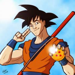 Goku by jonathanserrot