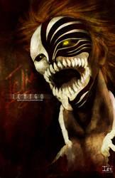 BLEACH-- ICHIGO HOLLOW by DarkChildx2k