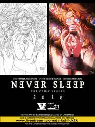 Never Sleep First Look! by DarkChildx2k