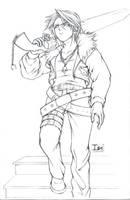 Commish-- Squall 4 Chronicedge by DarkChildx2k