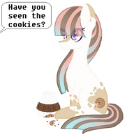 |MLP|The Cookie Thief by Sapphire-M00nLight