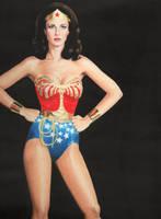Lynda Carter Wonder Woman by Promethean-Arts