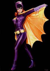 Batgirl (Yvonne Craig) by Promethean-Arts