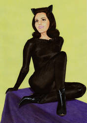 Catwoman (lee Meriweather) by Promethean-Arts