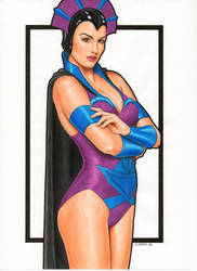 Masters of the Universe Evil Lyn (Filmation Style) by Promethean-Arts