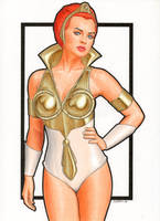 Masters of the Universe Teela (Filmation Style) by Promethean-Arts
