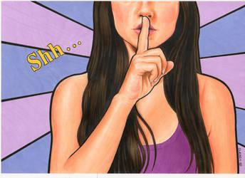 Hush Now by Promethean-Arts