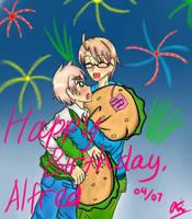 Happy Birthday, Alfred by KaiChika