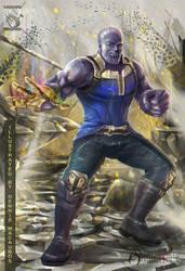 Thanos Fanart by artistmyx