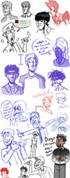 Sketch dump 12 by MrDataTheAwesome