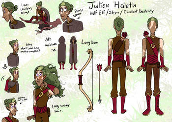 DnD - Julien Haleth by MrDataTheAwesome