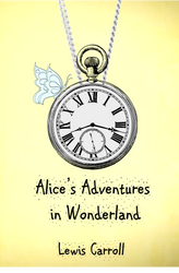 Alice's Adventures in Wonderland fake book cover by clockmakersassistant