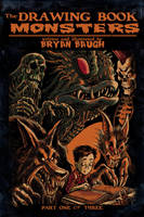 The Drawing Book Monsters by BryanBaugh
