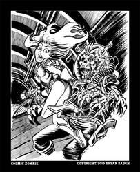 Cosmic Zombie by BryanBaugh