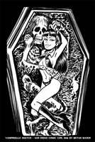 SDCC Vampirella Sketch by BryanBaugh