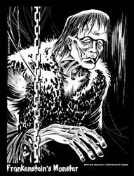 Frankensteins Monster inks by BryanBaugh