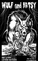 Wulf and Batsy Volume 2 ferocious promo art by BryanBaugh