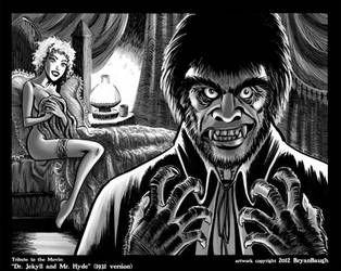 Tribute to Dr. Jekyll and Mr. Hyde 1931 by BryanBaugh