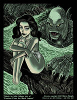 Julia Adams and the Black Lagoon by BryanBaugh