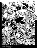 Jugger Grimrod from Alien Legion by BryanBaugh