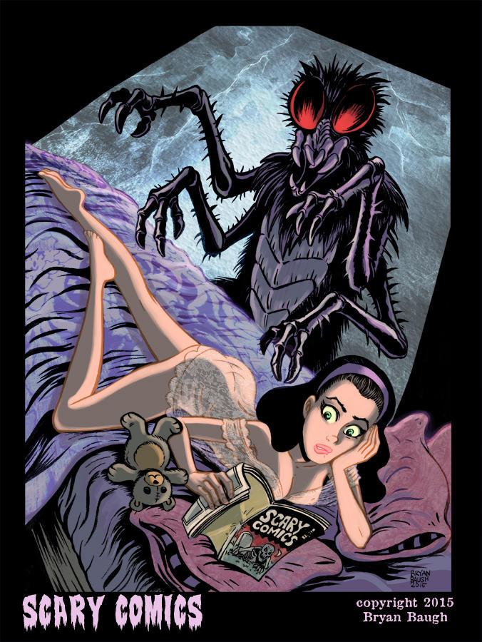 SCARY COMICS by BryanBaugh