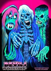 Devils Workshop Maskfest Banner by BryanBaugh