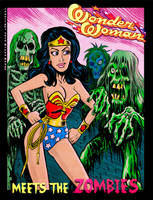 Wonder Woman meets the Zombies by BryanBaugh