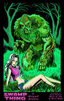 Swamp Thing and Abigail Arcane by BryanBaugh