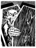 INKTOBER 2017 Day 2: Creeking Crypt by BryanBaugh