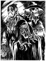 INKTOBER 2017 Day 6: Something Witchy by BryanBaugh