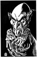 INKTOBER 2017 Day 16: Nosferatu by BryanBaugh