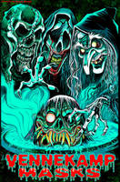 Vennekamp Masks Banner Art by BryanBaugh