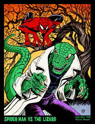 SPIDER-MAN vs. THE LIZARD by BryanBaugh